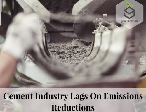 Cement Industry Lags on Emissions Reductions – صناعة الأسمنت تتخلف عن تخفيضات الانبعاثات