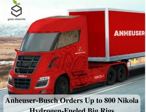 "Anheuser-Busch Orders Up to 800 Nikola Hydrogen-Fueled Big Rigs – شركة ""Anheuser-Busch"" تطلب من شركة ""Nikola"" ما يصل إلى 800 من الحفارات الكبيرة ذات الوقود الهيدروجيني"