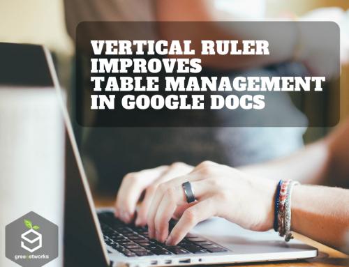 Vertical ruler improves table management in Google Docs تحسين المساطر الرأسية للجداول في مستندات Google
