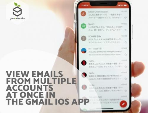 View emails from multiple accounts at once in the Gmail iOS app عرض رسائل البريد الإلكتروني من حسابات متعددة في وقت واحد في تطبيق Gmail iOS