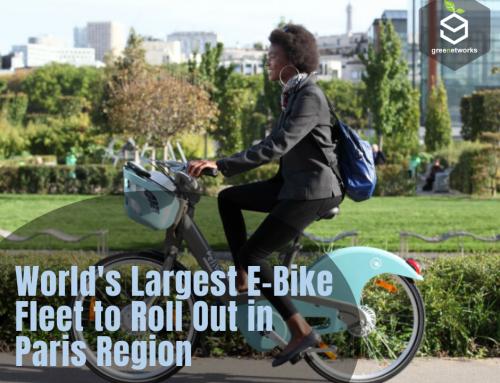 World's Largest E-Bike Fleet to Roll Out in Paris Region أكبر أسطول من الدراجات الكهربية في العالم في منطقة باريس