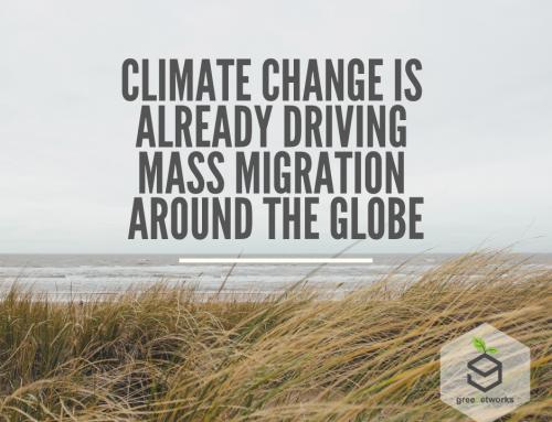Climate Change Is Already Driving Mass Migration Around the Globe تغير المناخ بالفعل يقود الهجرة الجماعية حول العالم
