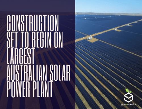 Construction Set to Begin on Largest Australian Solar Power Plant البدء في بناء أكبر محطة للطاقة الشمسية بأستراليا