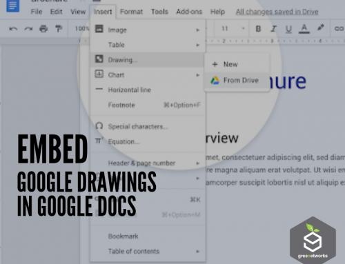 Embed Google Drawings in Google Docs ضم رسومات جوجل في محرّر المستندات