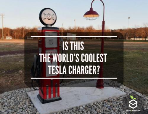 Is This The World's Coolest Tesla Charger? هل هذا هو أروع شاحن تيسلا في العالم؟