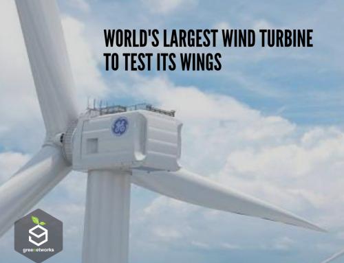 World's Largest Wind Turbine to Test Its Wings اختبار جناحي أكبر توربين رياح في العالم