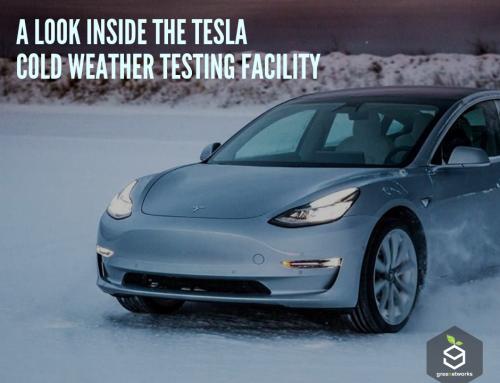 A Look Inside The Tesla Cold Weather Testing Facility نظرة داخل منشأة تسلا لإختبار الطقس البارد